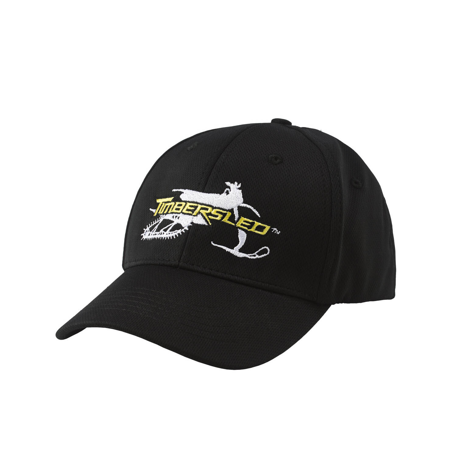 Men's Adjustable Snapback Hat with Timbersled® Graphic, Black