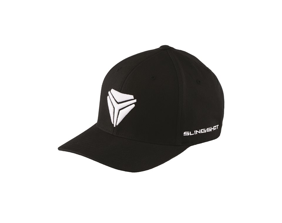 Men's Signature Logo Cap (L/XL) - Black/White