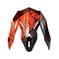 509® Altitude Adult Carbon Fiber Helmet Replacement Visor, Red