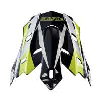 Tenacity Replacement Visor- Black/Lime Punch Gloss