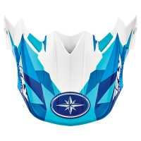 FLY F2 Replacement Visor- Blue Fractal