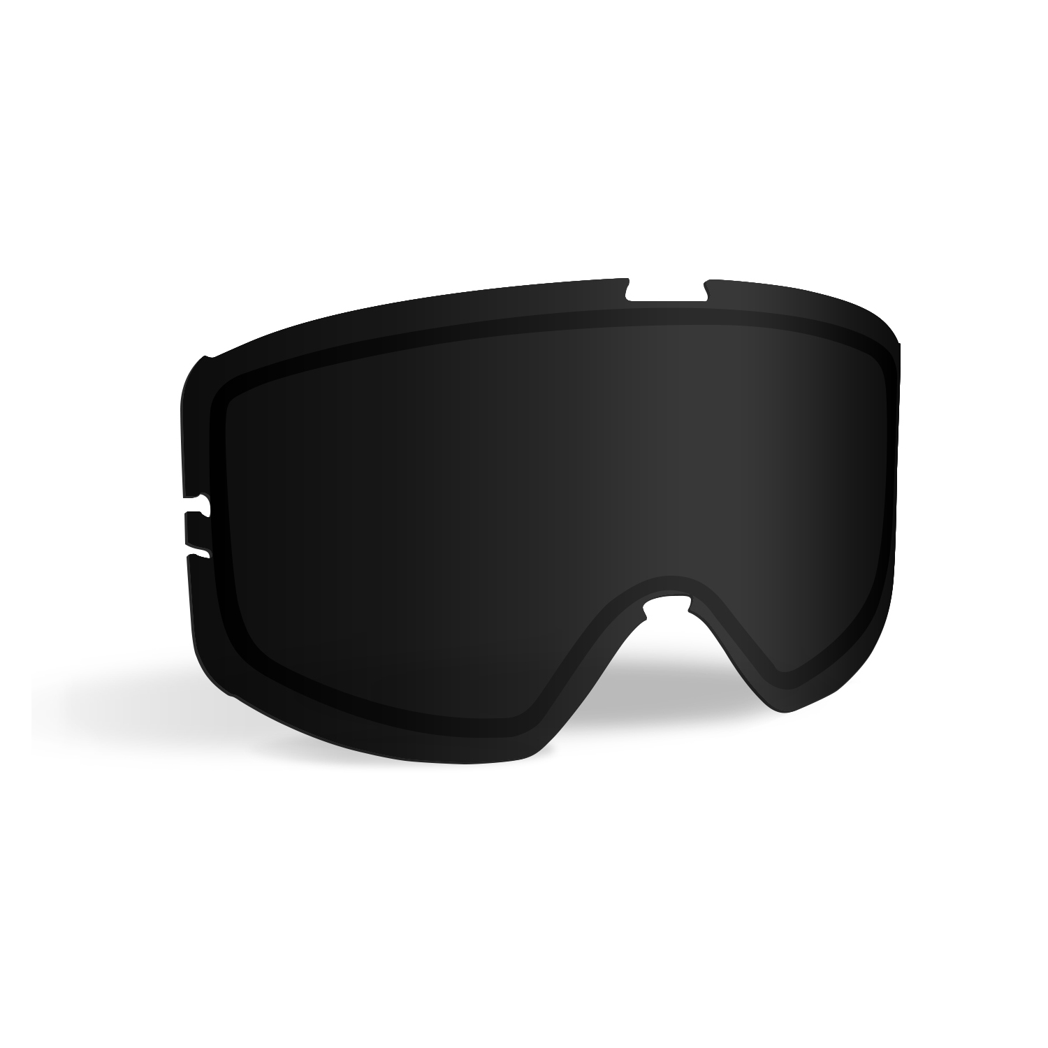 509® Kingpin Dirt Adult Goggle Replacement Lens with Quick-Change Technology, Smoke