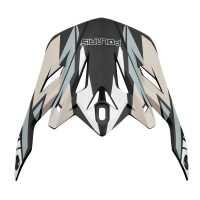 Tenacity Helmet Replacement Visor - Black/Gray