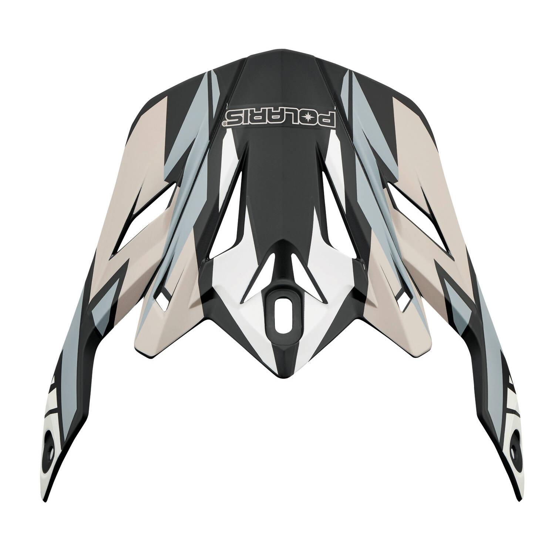 Replacement Visor for Adult Tenacity Helmet, Black/Gray