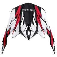 Tenacity Helmet Replacement Visor - Red