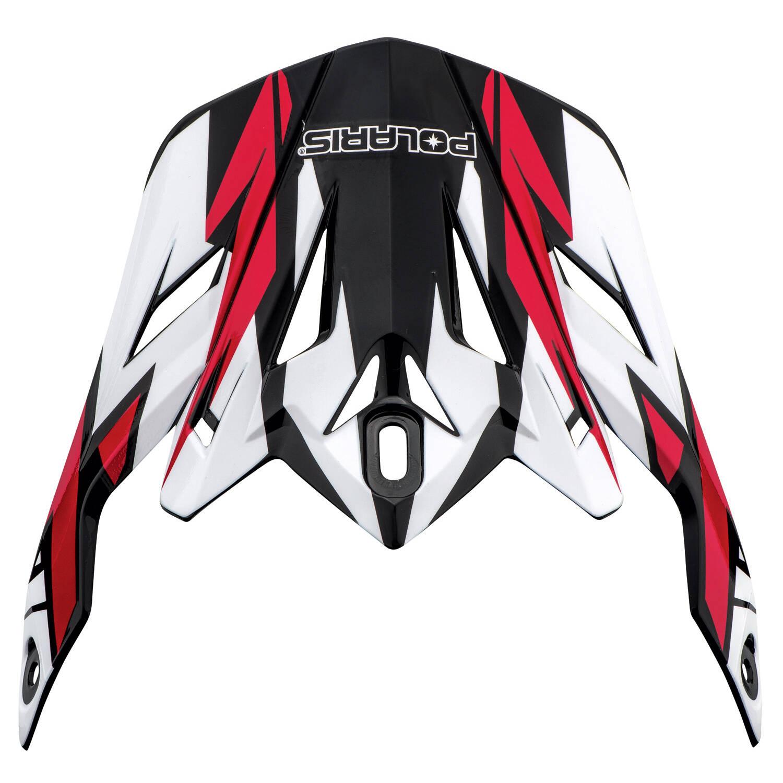 Replacement Visor for Adult Tenacity Helmet, Red