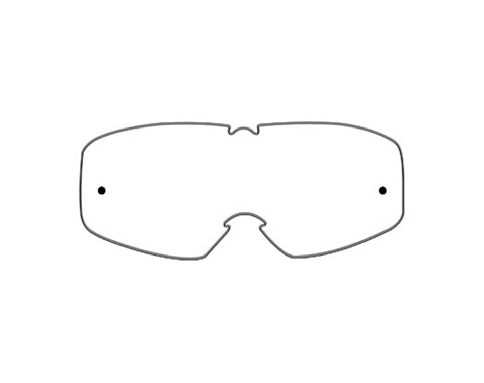 509® Dirt Adult Goggle Replacement Lenses with Quick-Change Technology, Clear