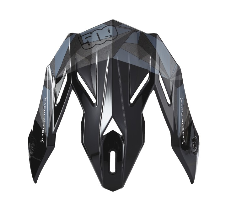 509® Altitude Adult Carbon Fiber Helmet Replacement Visor, Gloss