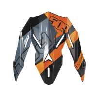 509® Altitude Adult Carbon Fiber Helmet Replacement Visor, Orange
