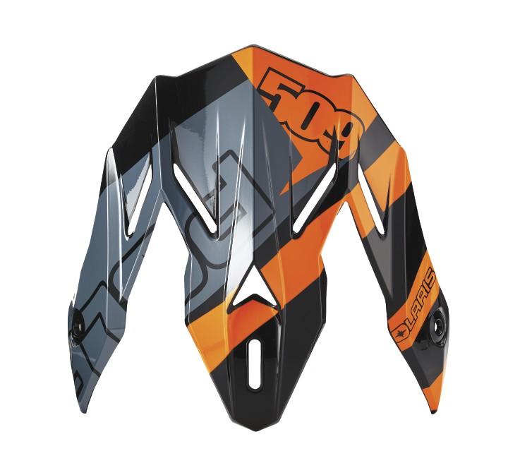 509® Altitude Adult Carbon Fiber Helmet Replacement Visor, Orange