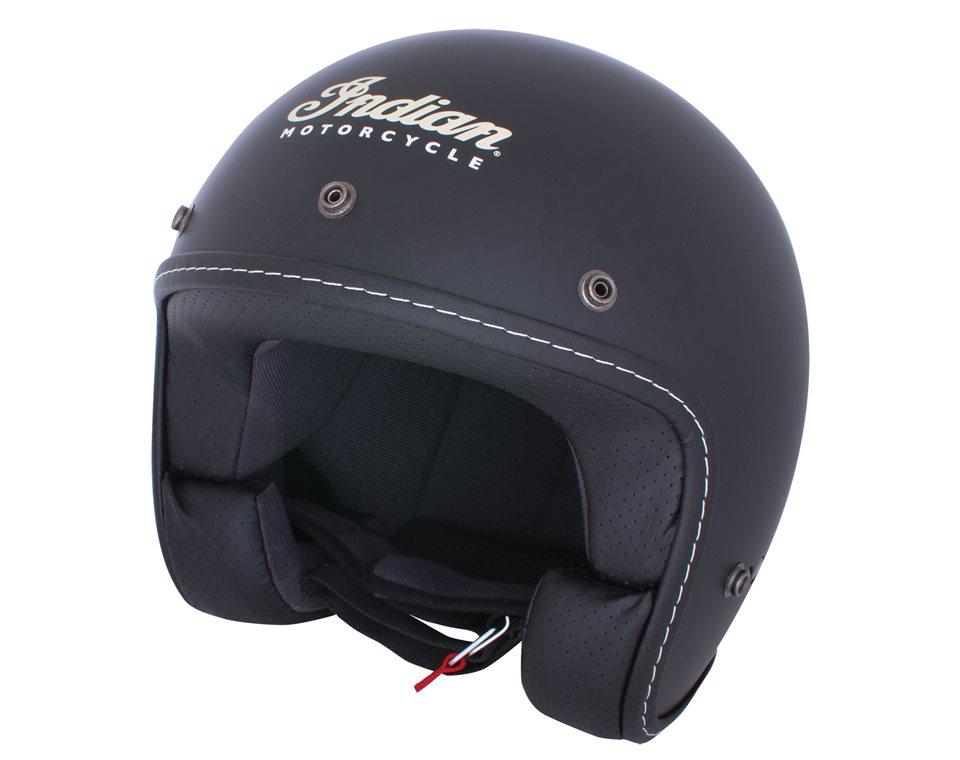 Indian Motorcycle® Open Face Helmet - Black