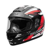 Youth Turbo Helmet- Red