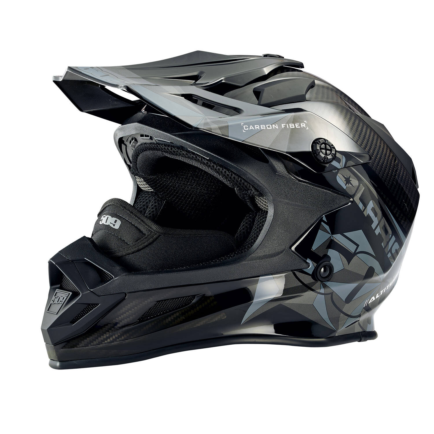 509® Polaris® Altitude Carbon Helmet - Gloss