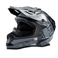 509® Altitude Adult Moto Helmet with Camera Mount, Gray