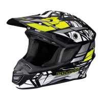 Tenacity Adult Moto Helmet with Removable Liner, Lime