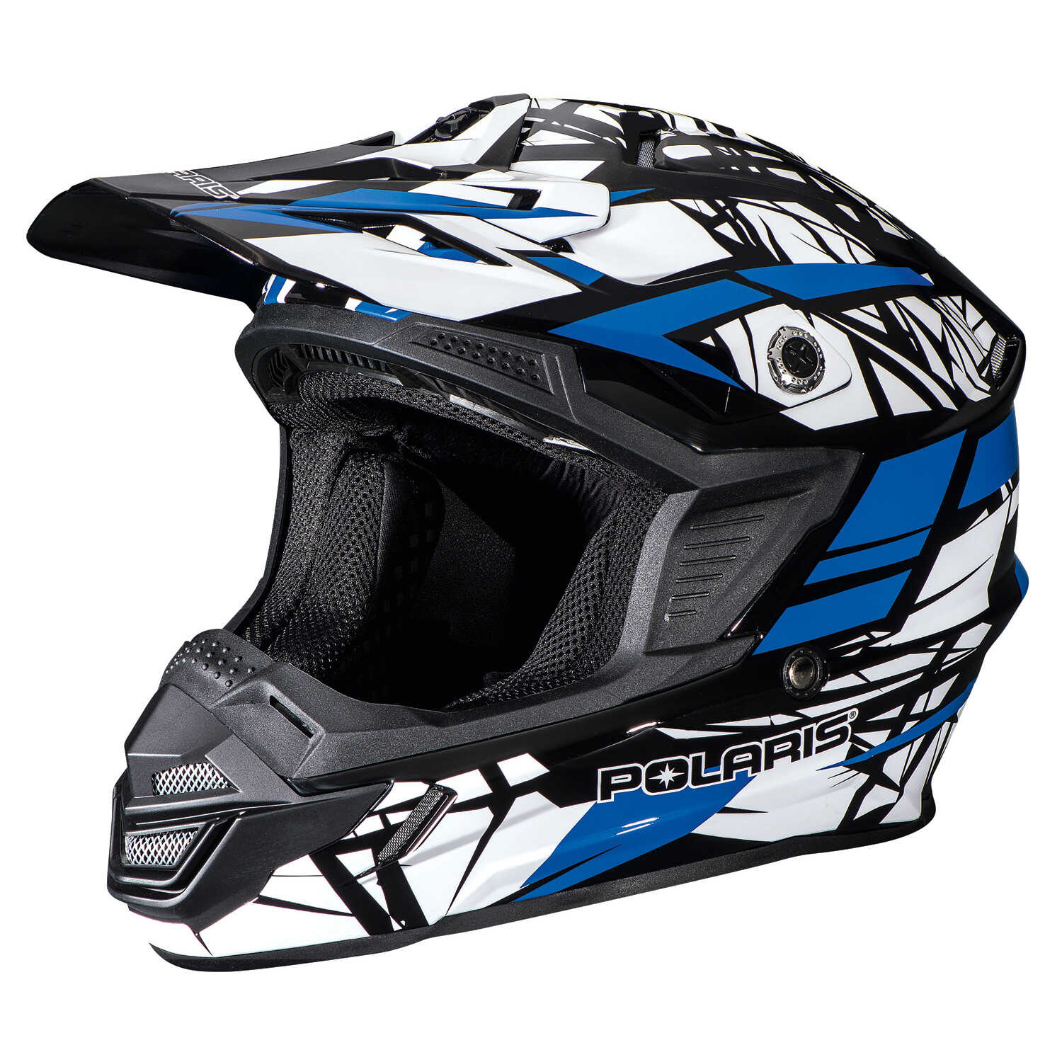 Tenacity Adult Moto Helmet with Removable Liner, Blue