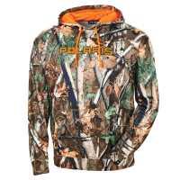 Men's Camouflage Hoodie - Polaris Pursuit® Camo/Blaze Orange