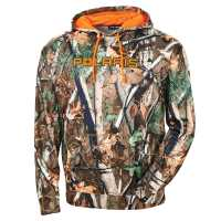 Men's Polaris® Pursuit Camo Hoodie Sweatshirt with Orange Polaris® Logo