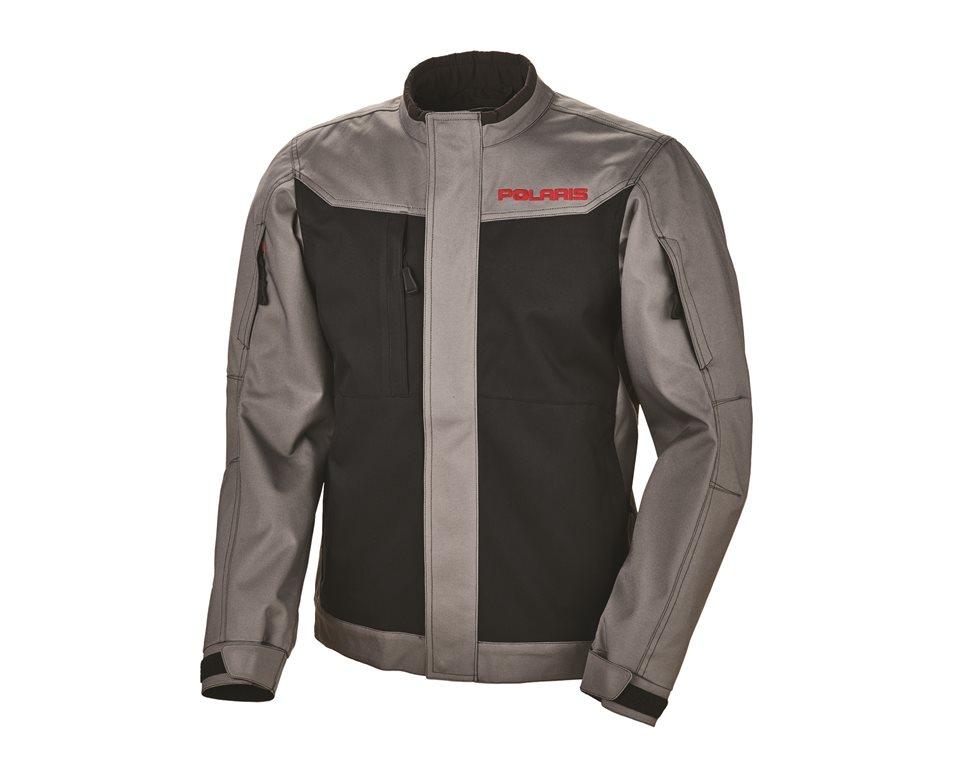 Men's Riding Jacket - Black/Gray