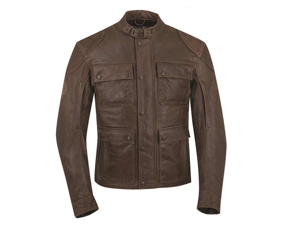 Men's Benjamin Jacket - Brown Leather | Indian Motorcycle EN-CA