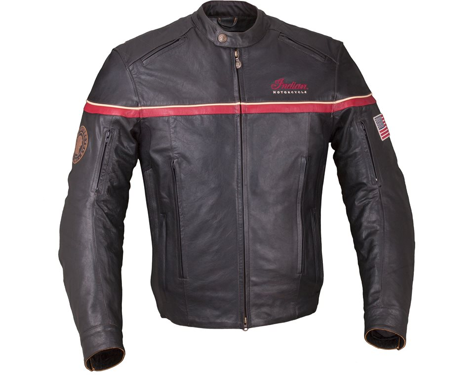 e43225f02 Men's Leather Freeway Riding Jacket with Removable Lining, Black