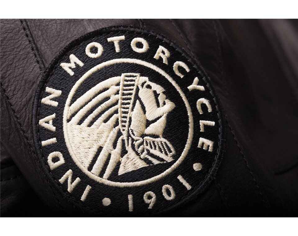 miniature 15 - Indian Motorcycle Women's Leather Effie Casual Jacket with Removable Lining
