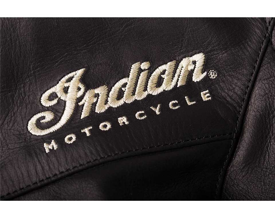 miniature 14 - Indian Motorcycle Women's Leather Effie Casual Jacket with Removable Lining