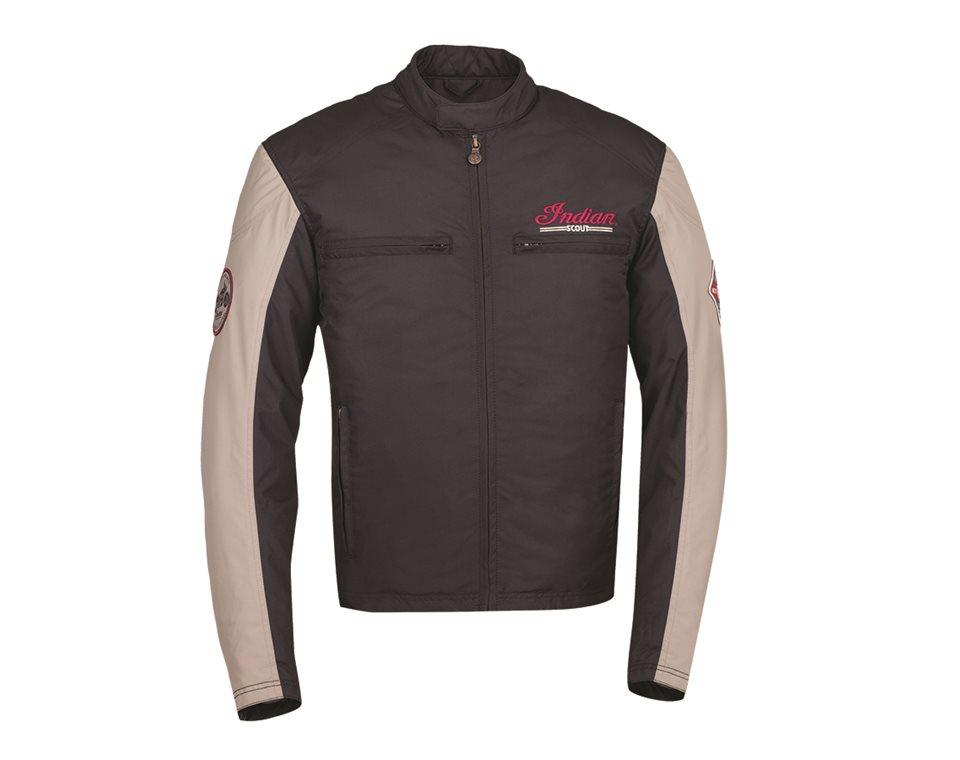 Men's Casual Lightweight Scout Jacket, Black