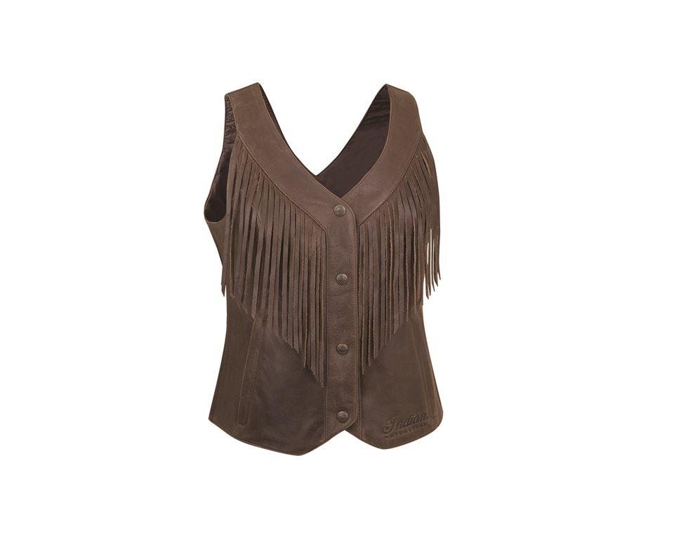 Women's Fringe Vest