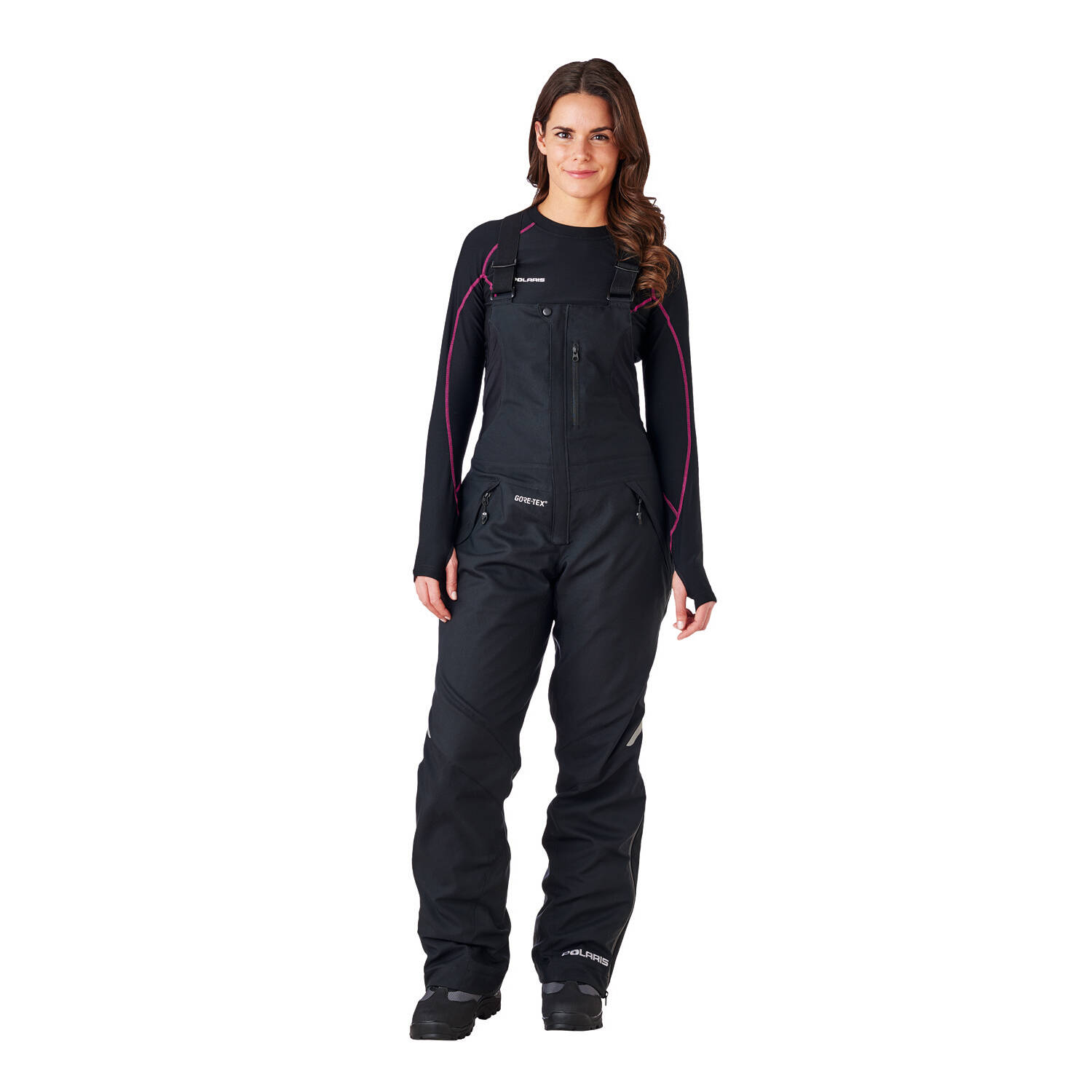 Women's Diamond Bib Snow Pants with GORE-TEX®, Black