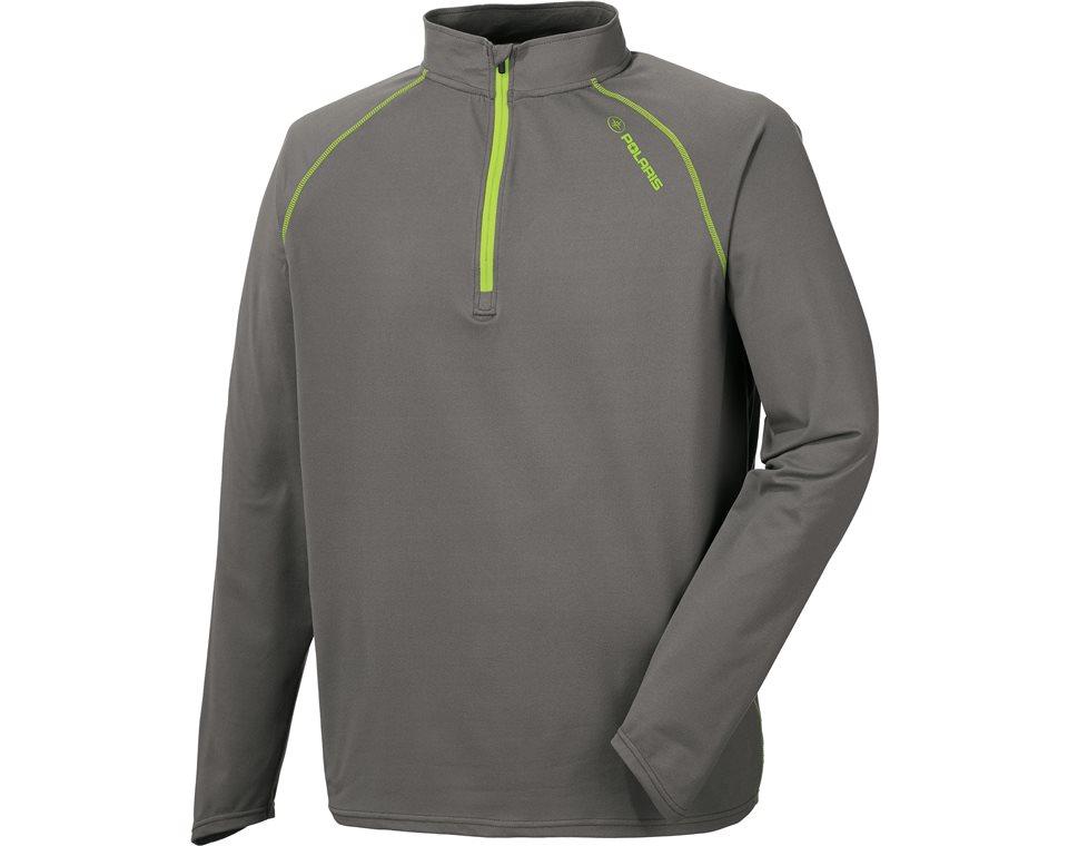 Men's Long Sleeve Tech 1/4 Zip - Gray