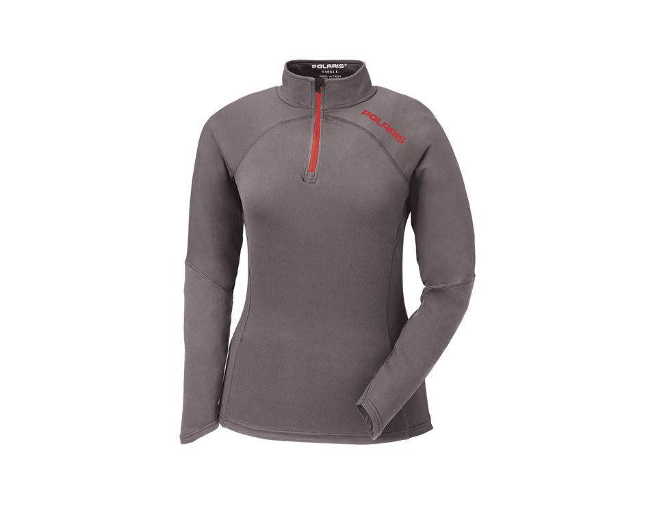 Women's Tech 1/4 Zip - Gray