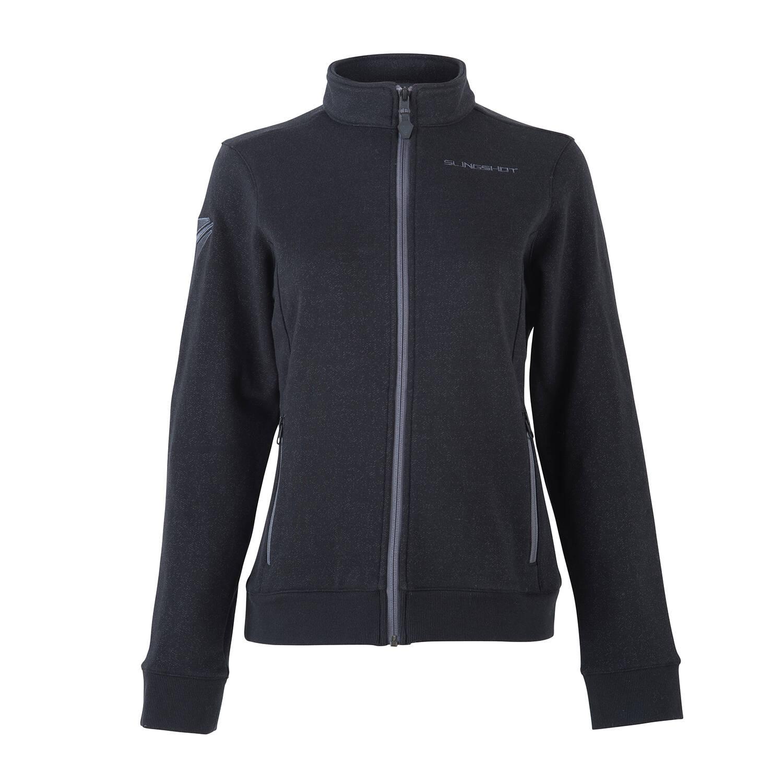 Women's Full-Zip Riders Jacket with Slingshot® Logo, Black
