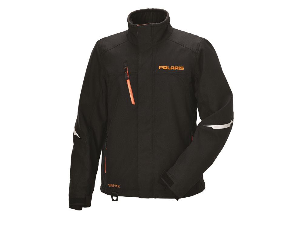 Men's Pro Jacket - Black/Orange
