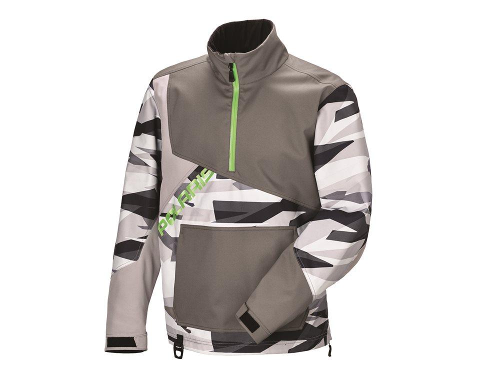 Men's X-Over Jacket - Gray Print