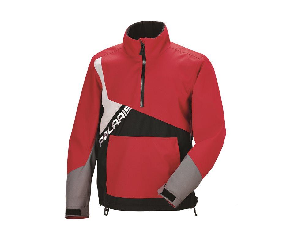Men's X-Over Jacket - Red/Gray