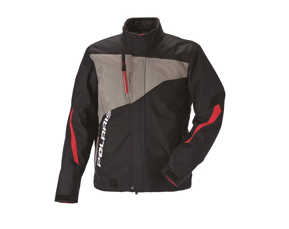 Men's Throttle Jacket - Black/Gray