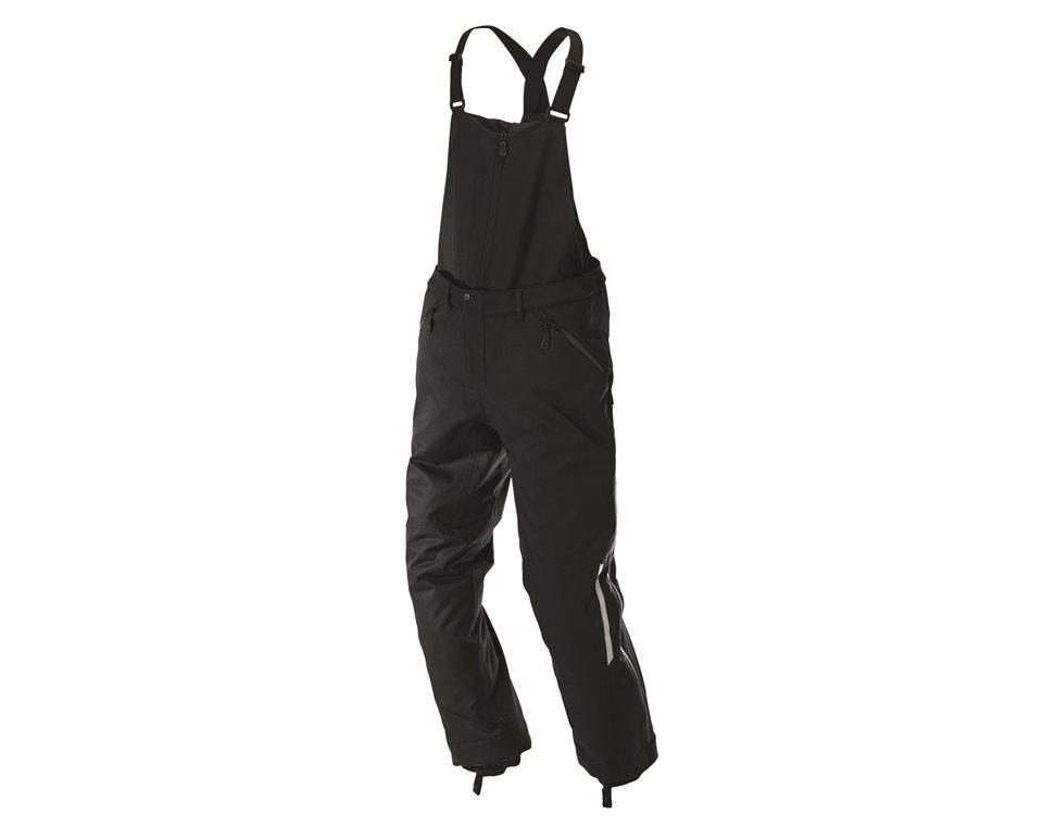 Men's Ripper Bib Snow Pants with Bib Snow Pants-To-Pant Conversion, Black