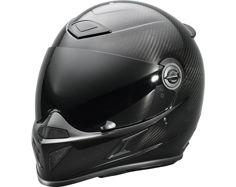 Adult Full Face Slingshot® Helmet, Carbon Fiber