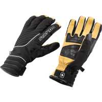 Black Peak II Gloves - Black/Yellow