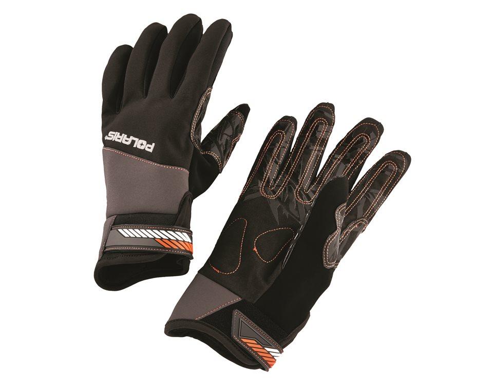 Race Glove - Black Orange