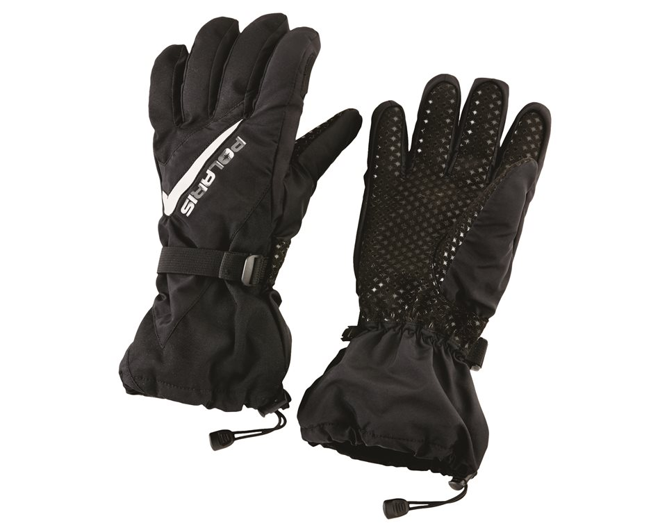 Unisex Level 1 Trail Glove with Gauntlet, Black