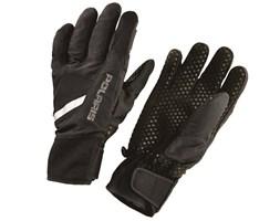 Unisex Level 1 Lightweight Mountain Glove with Adjustable Wrist Straps, Black