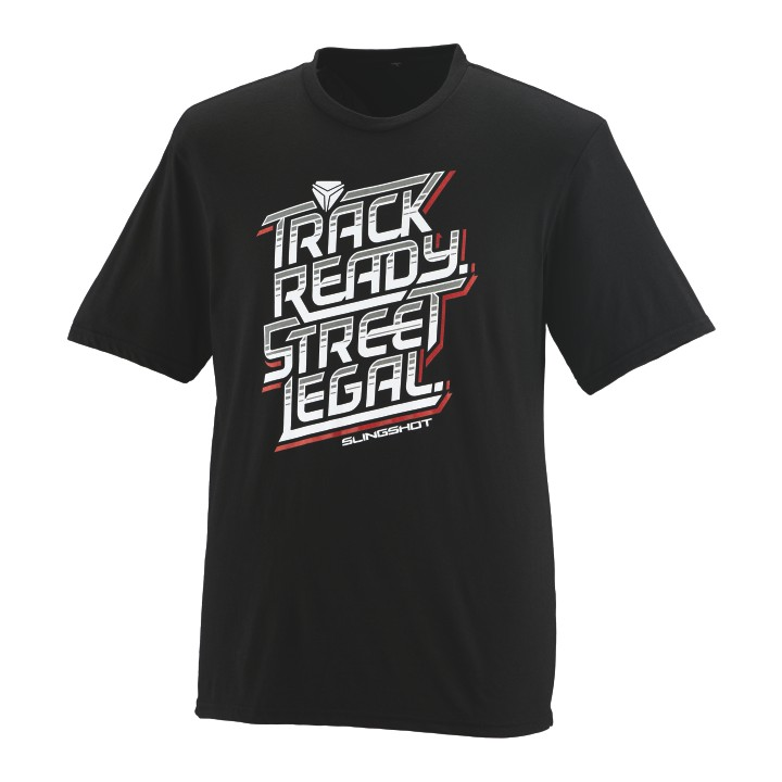 Men's Track Ready Street Legal Slingshot® Graphic T-Shirt, Black