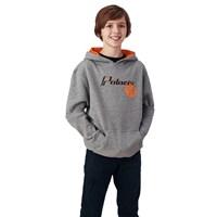 Youth Retro Hoodie Sweatshirt with Polaris® Logo, Gray