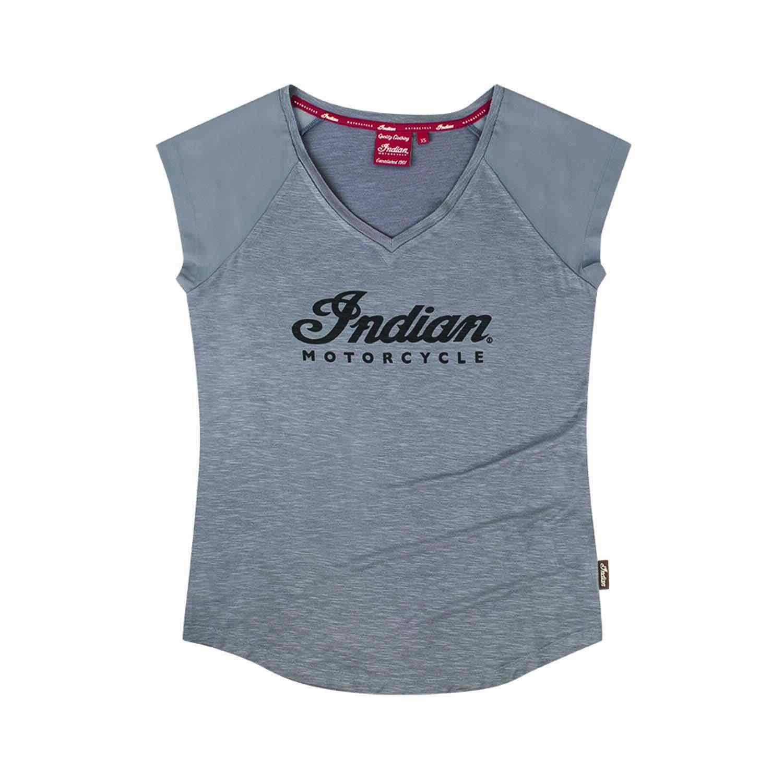 Women's Sleeveless T-shirt with Chiffon Sleeves, Gray