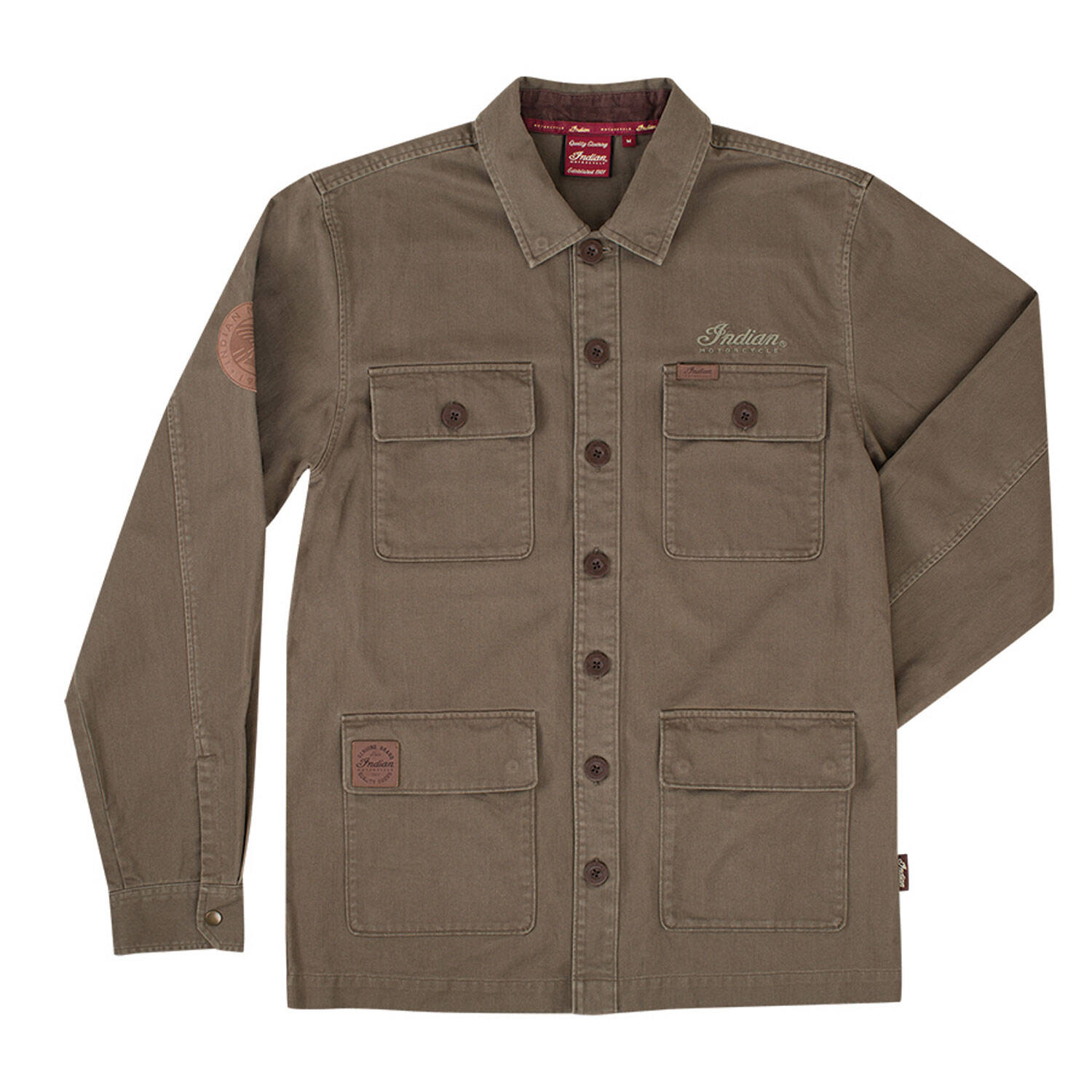 Men's Khaki Overshirt