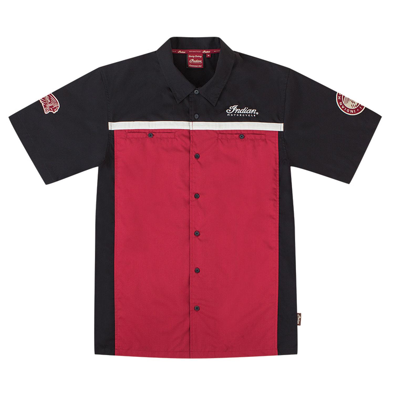 Men's Shop Shirt, Red
