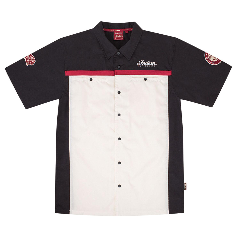 Men's Shop Shirt, Antique White