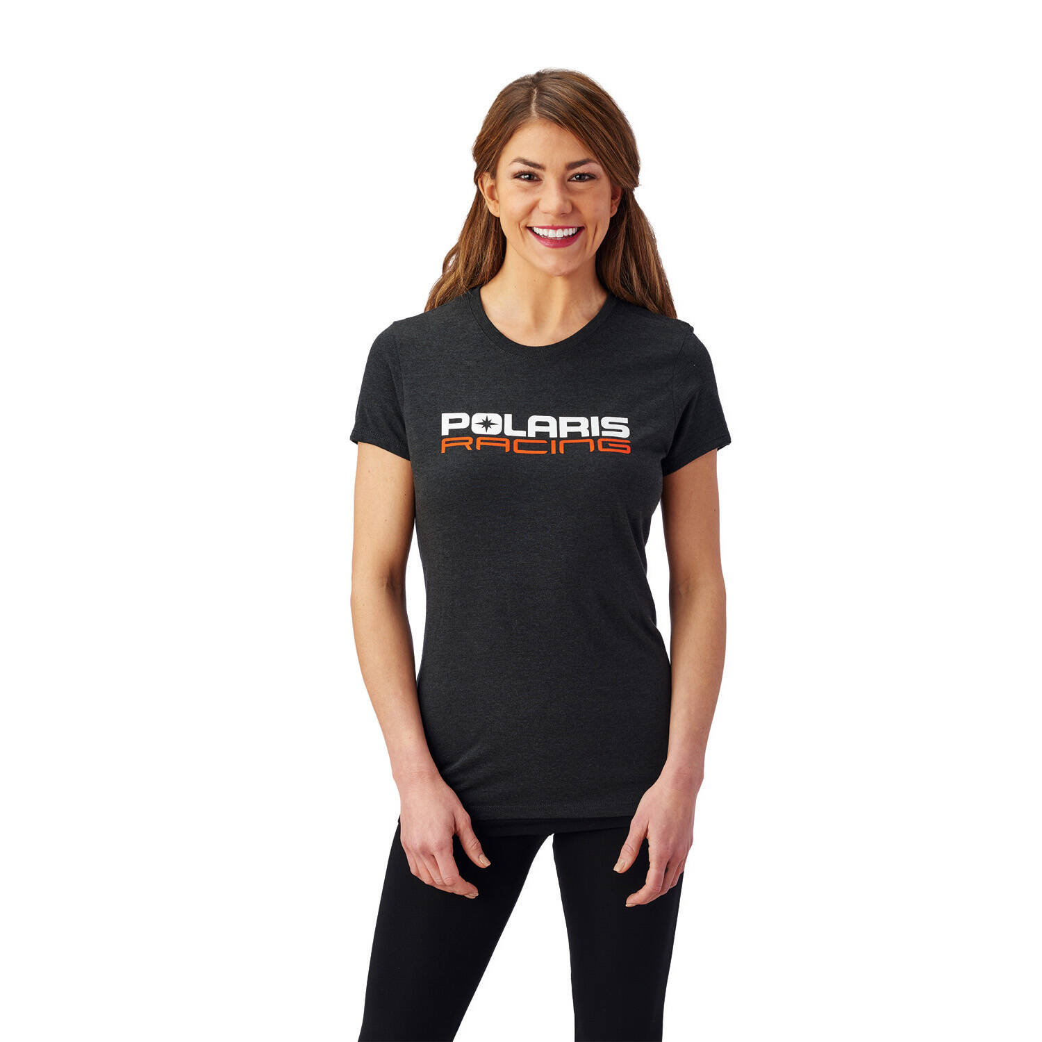 Women's Race T-Shirt with Polaris® Logo, Gray